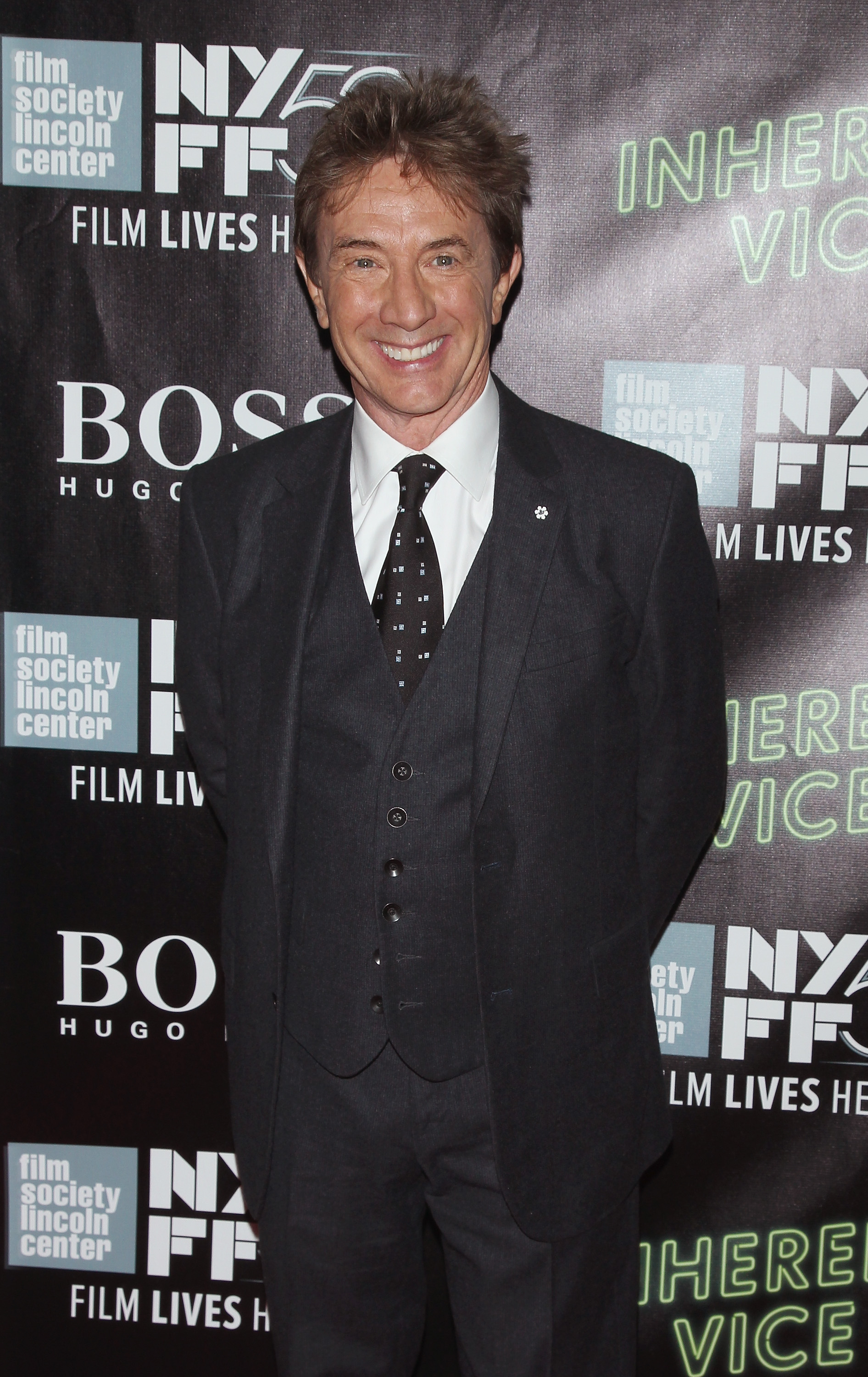 Actor Martin Short during the 52nd New York Film Festival on October 4, 2014 in New York City.