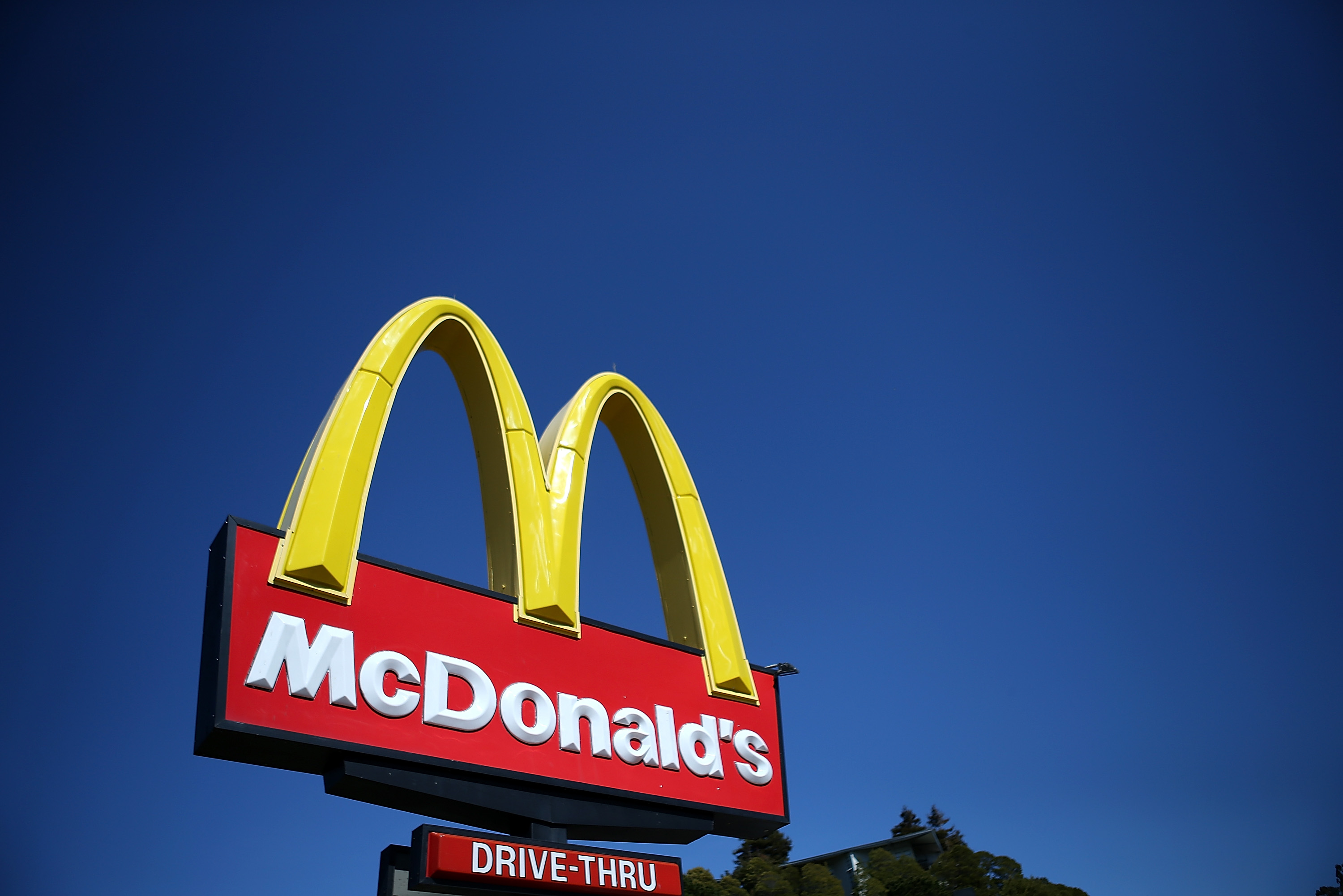 A McDonald's restaurant sign on March 12, 2013 in Mill Valley, California.