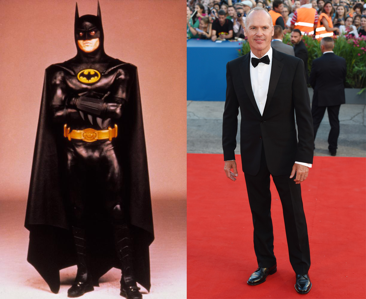 Best known for starring as Batman in Batman and Batman Returns in 1989 and 1992, Michael Keaton laid low for a couple of decades until this year's Birdman. His biggest role was in Quentin Tarantino's Jackie Brown.