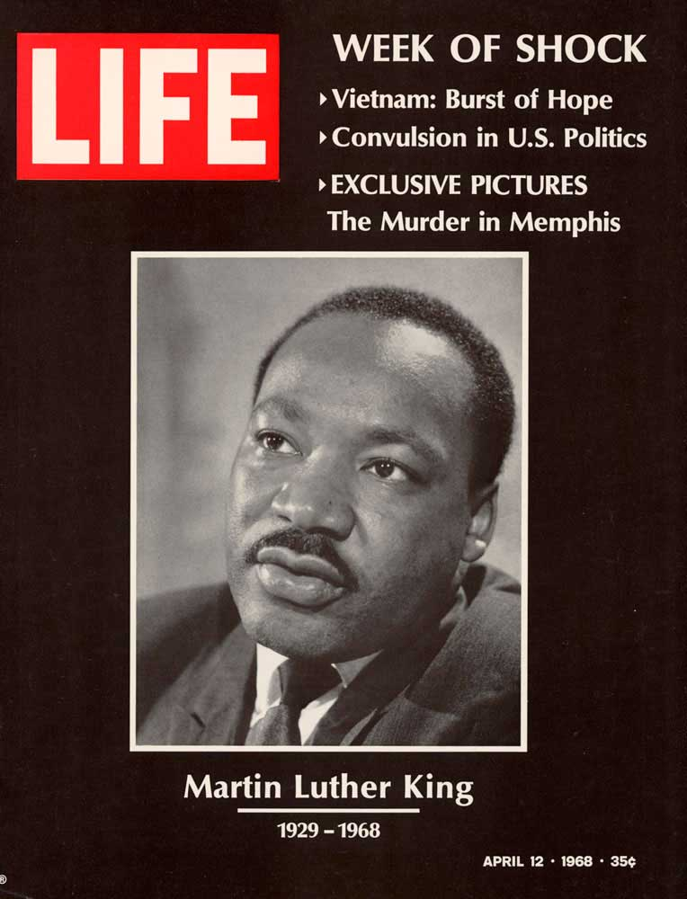 The cover of the April 12, 1968, issue of LIFE magazine.