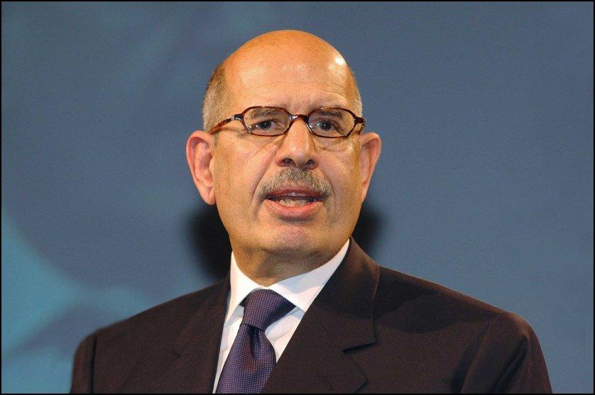 03/25/2006. Mohamed ElBaradei, head of the International Atomic Energy Agency in Dortmund.