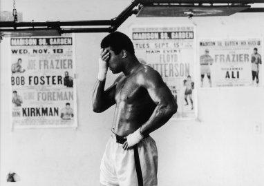 Muhammad Ali training Miami 1971