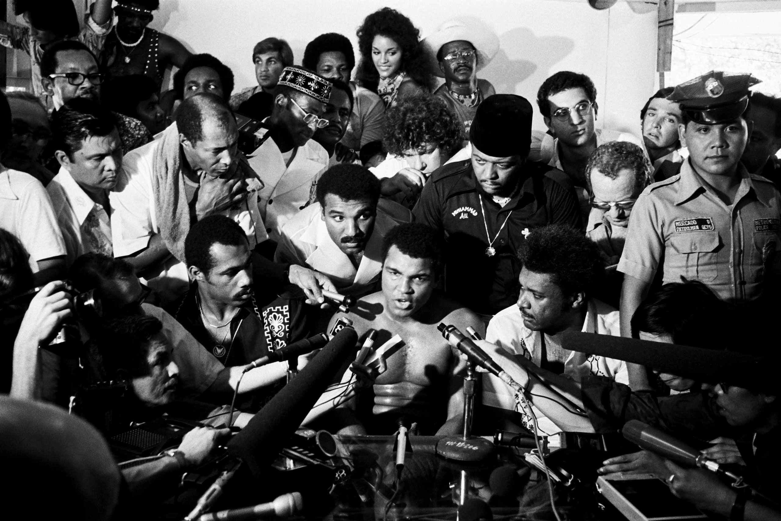 Ali defeated Joe Frazier once more in the  Thrilla In Manila . This fight surpassed their earlier bouts, and became one of the most well-known heavyweight fights ever.