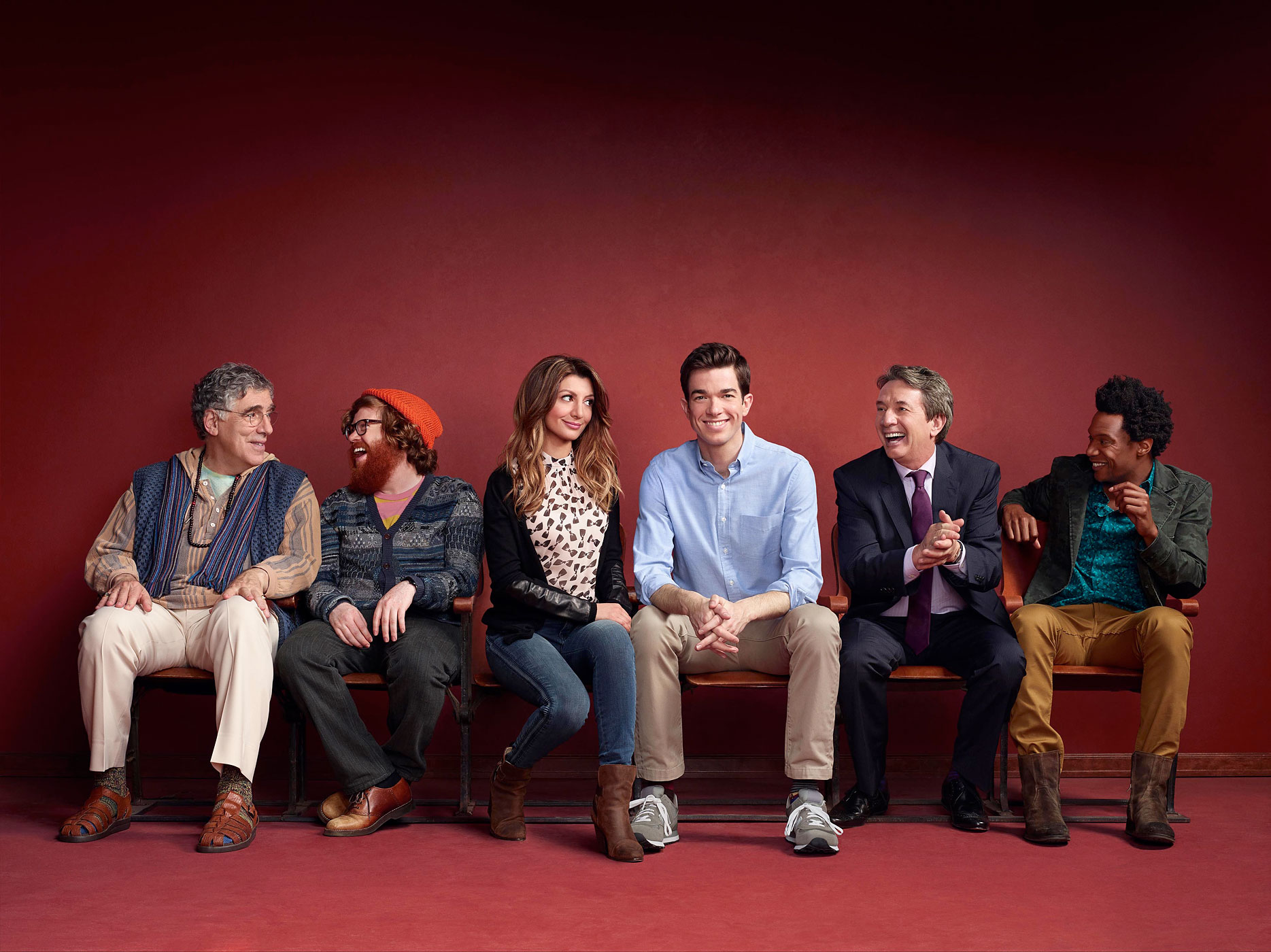 Among others in the diverse, experienced cast for Mulaney are Elliot Gould, Zack Pearlman, fellow SNL alum Nasim Pedrad, Martin Short and Seaton Smith. If the show doesn't prove successful, it won't be for lack of talent.