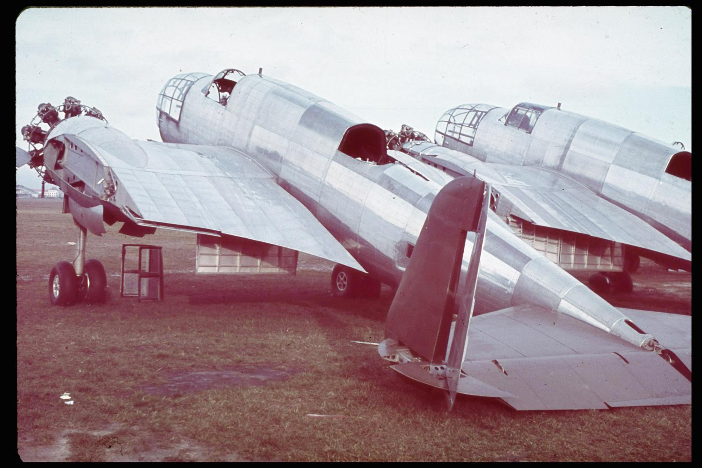 Unfinished Polish bombers, 1939.