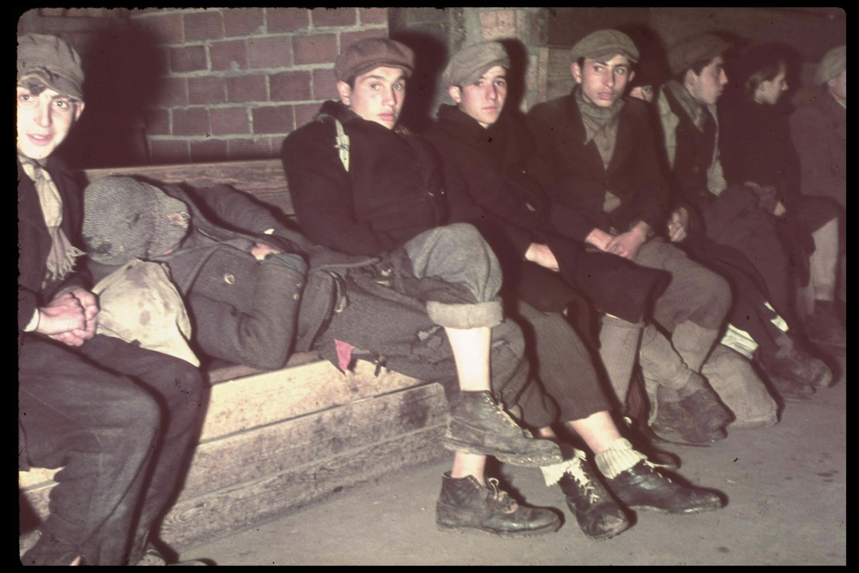 Polish refugees, Warsaw, 1939.