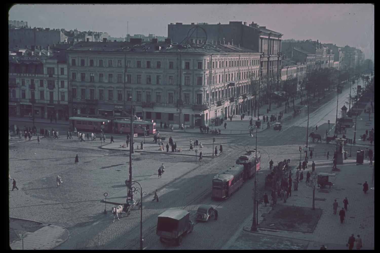 Scene in post-invasion Poland, 1939.