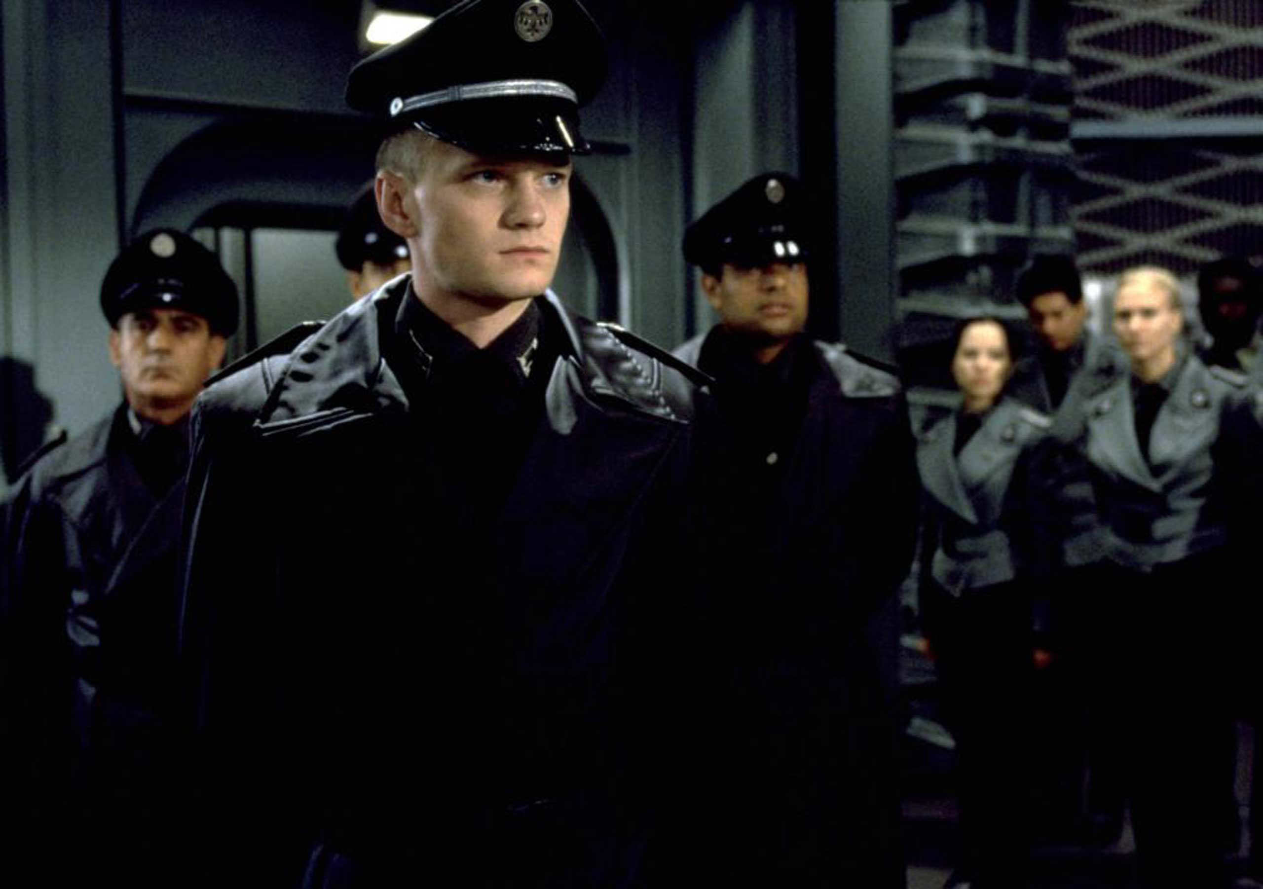 Neil Patrick Harris battled giant alien bugs (yes, really) in the militaristic sci-fi movie Starship Troopers in 1997.