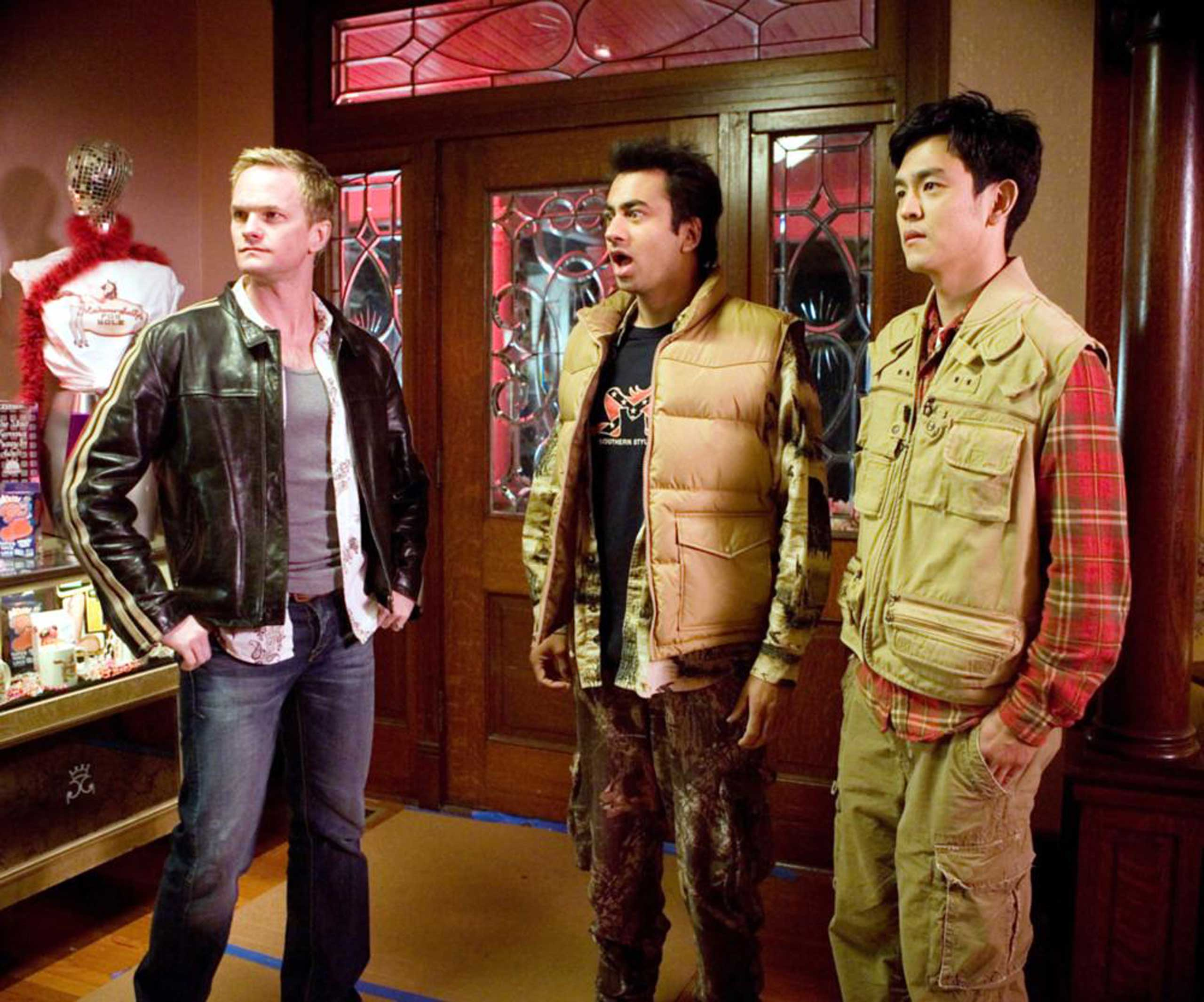 Neil Patrick Harris played a version of himself—or at least a washed up, beer guzzling, mushroom-tripping version of himself—in Harold and Kumar Escape From Guantanamo Bay in 2008.
