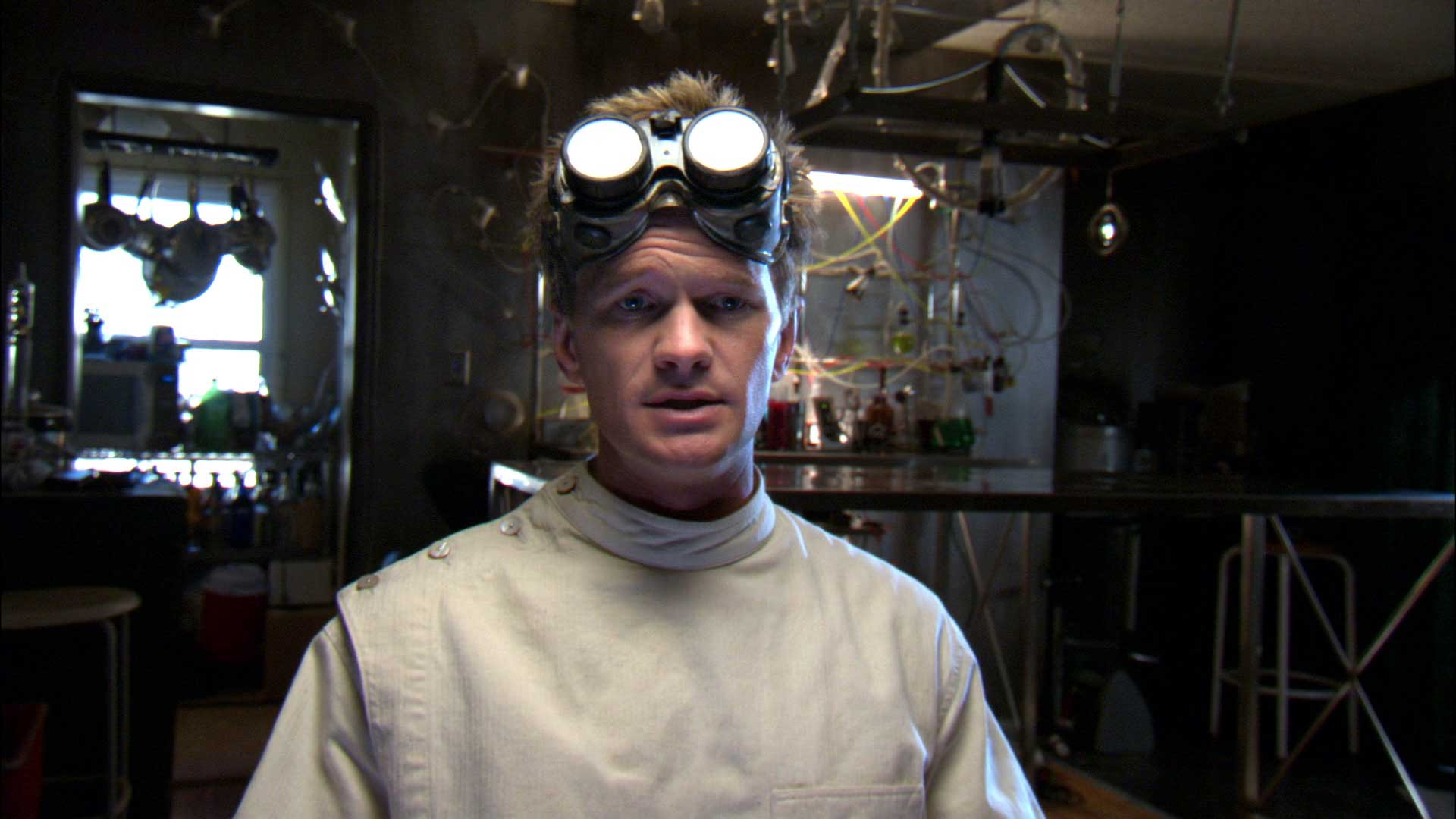 NPH starred as a poor man's villain with a sidekick whose only superpower is making things damp in Dr. Horrible's Sing-Along Blog in 2008.