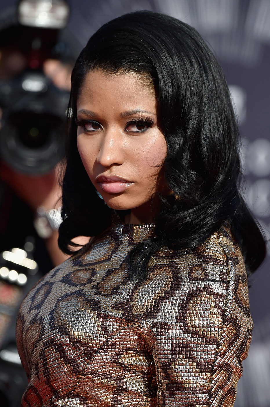 Recording artist Nicki Minaj attends the 2014 MTV Video Music Awards at The Forum on August 24, 2014 in Inglewood, Ca.