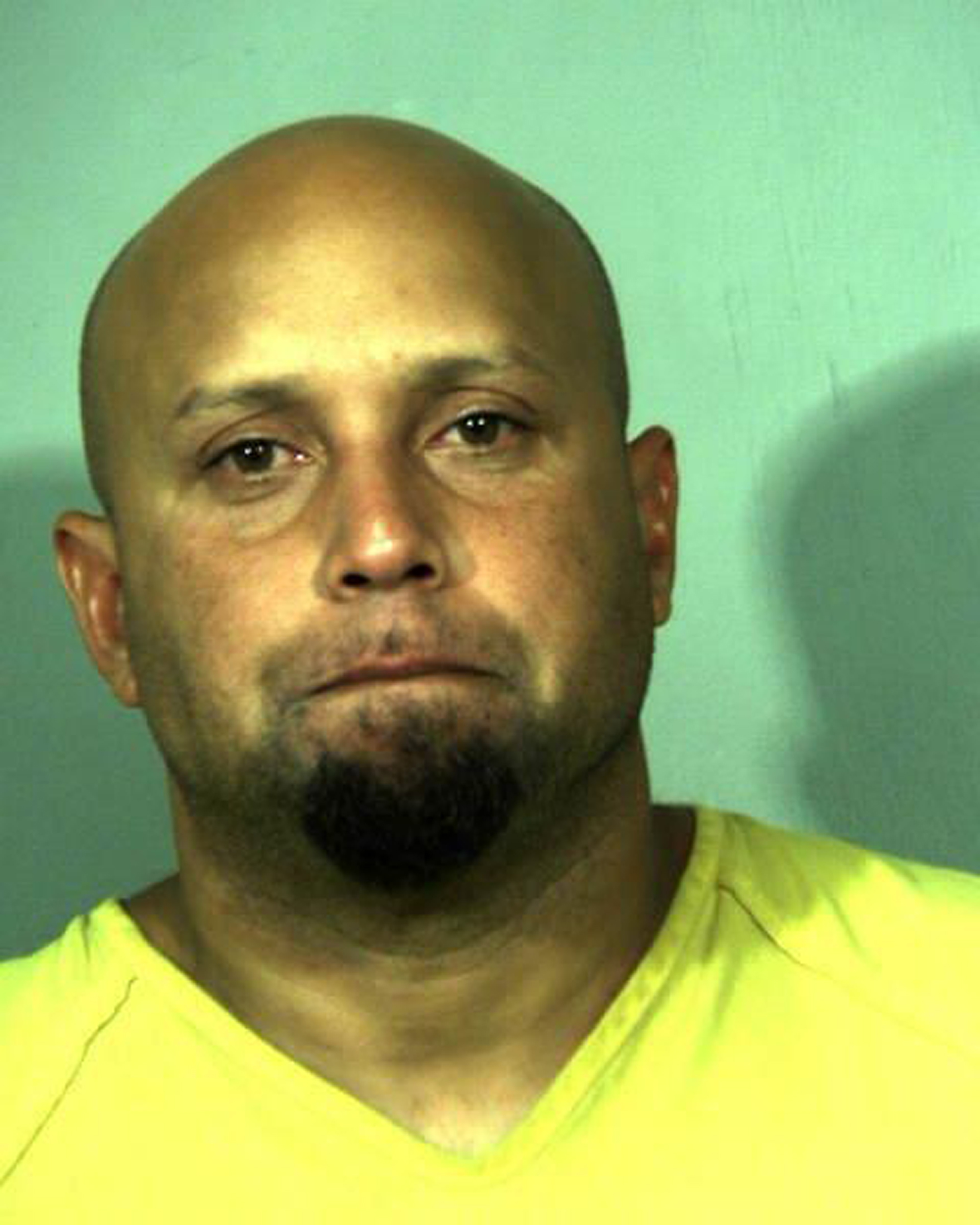 Alleged White House fence jumper Omar Gonzalez, 42, is shown in this New River Regional Jail booking photo released on September 23, 2014.