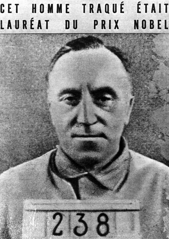German pacifist writer Carl Von Ossietzky, circa 1933
