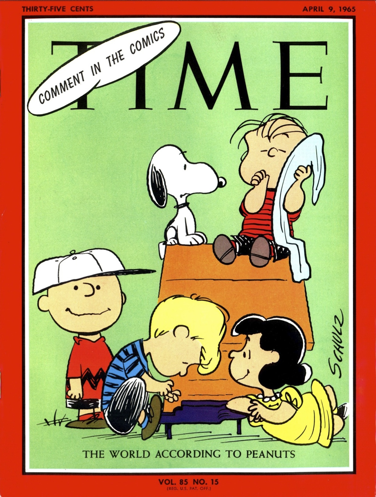 The April 9, 1965, cover of TIME