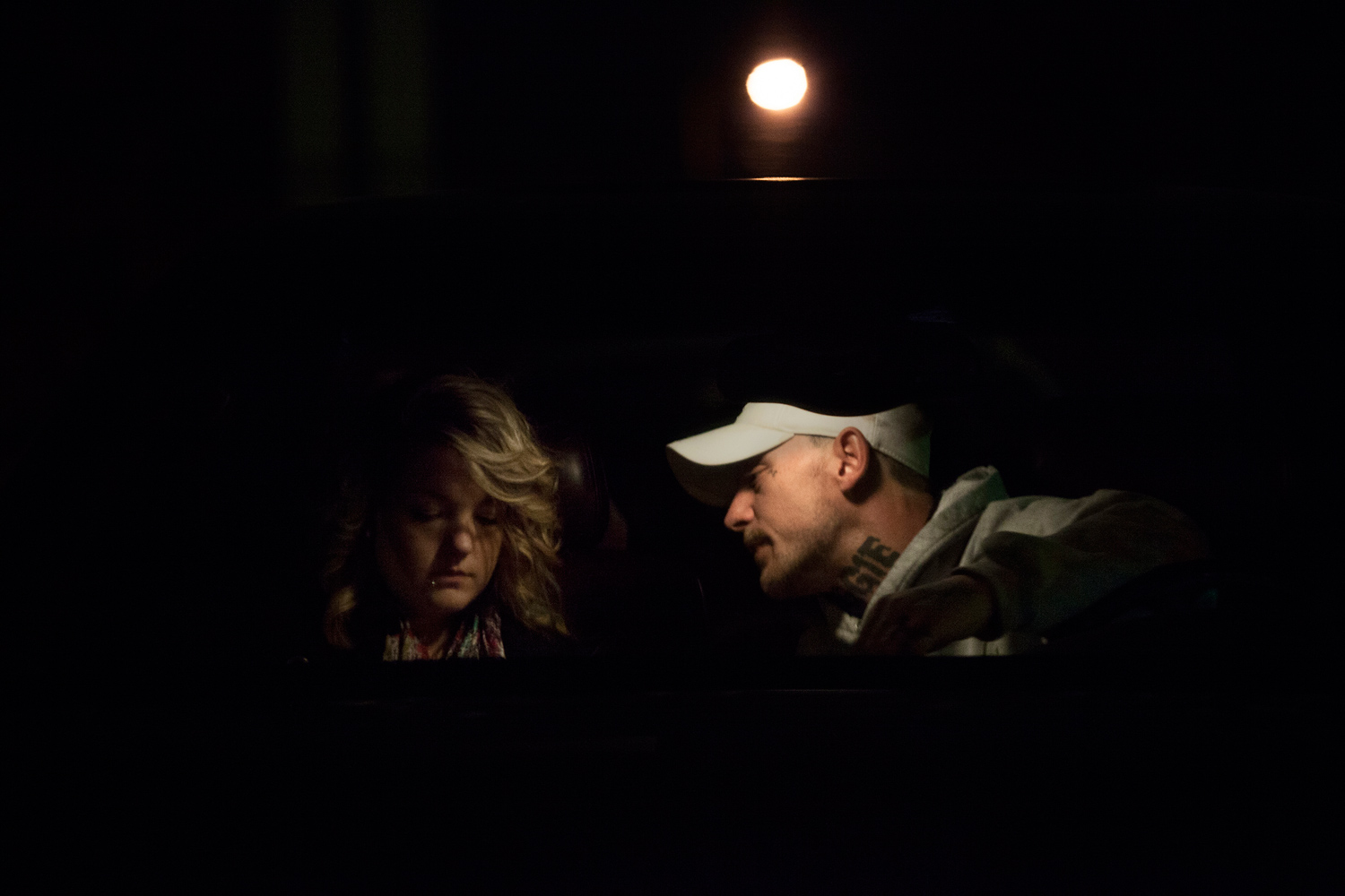 Shane and Maggie argued in their car. Maggie's inability to devote as much attention to Shane as she devoted to her children became a constant source of strife between the two.