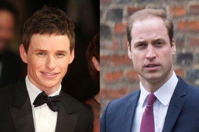 Prince William, Eddie Redmayne