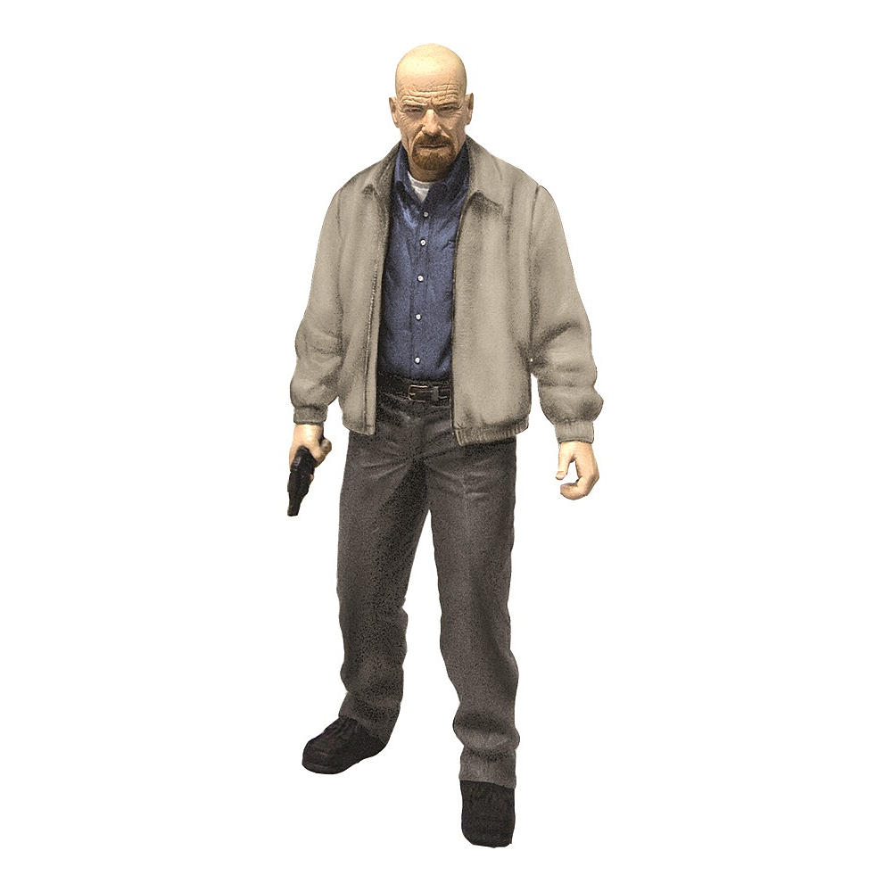 No, you're not hallucinating, that really is a Walter White doll.