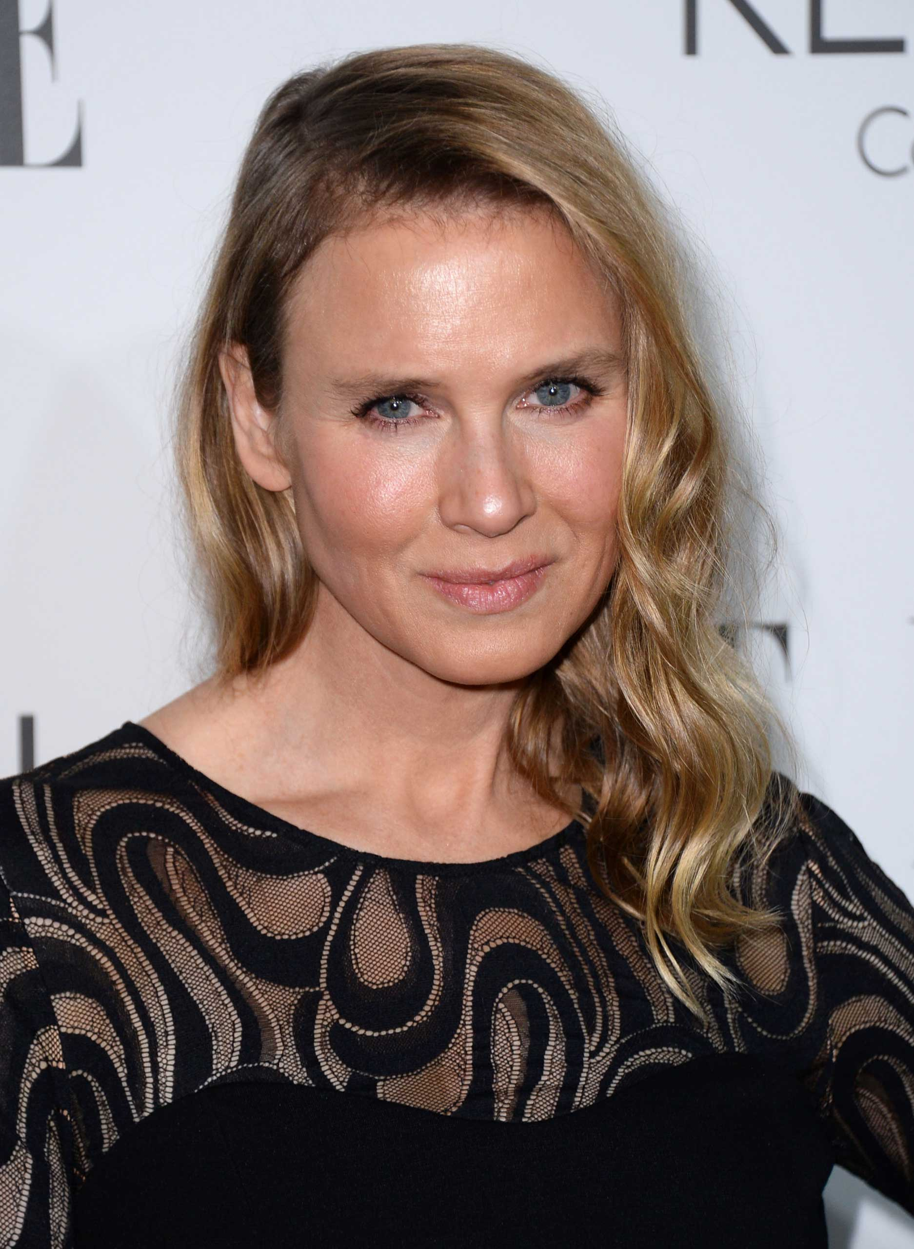Renee Zellweger arrives at ELLE's 21st annual Women In Hollywood Awards at the Four Season Hotel on Oct. 20, 2014, in Los Angeles.