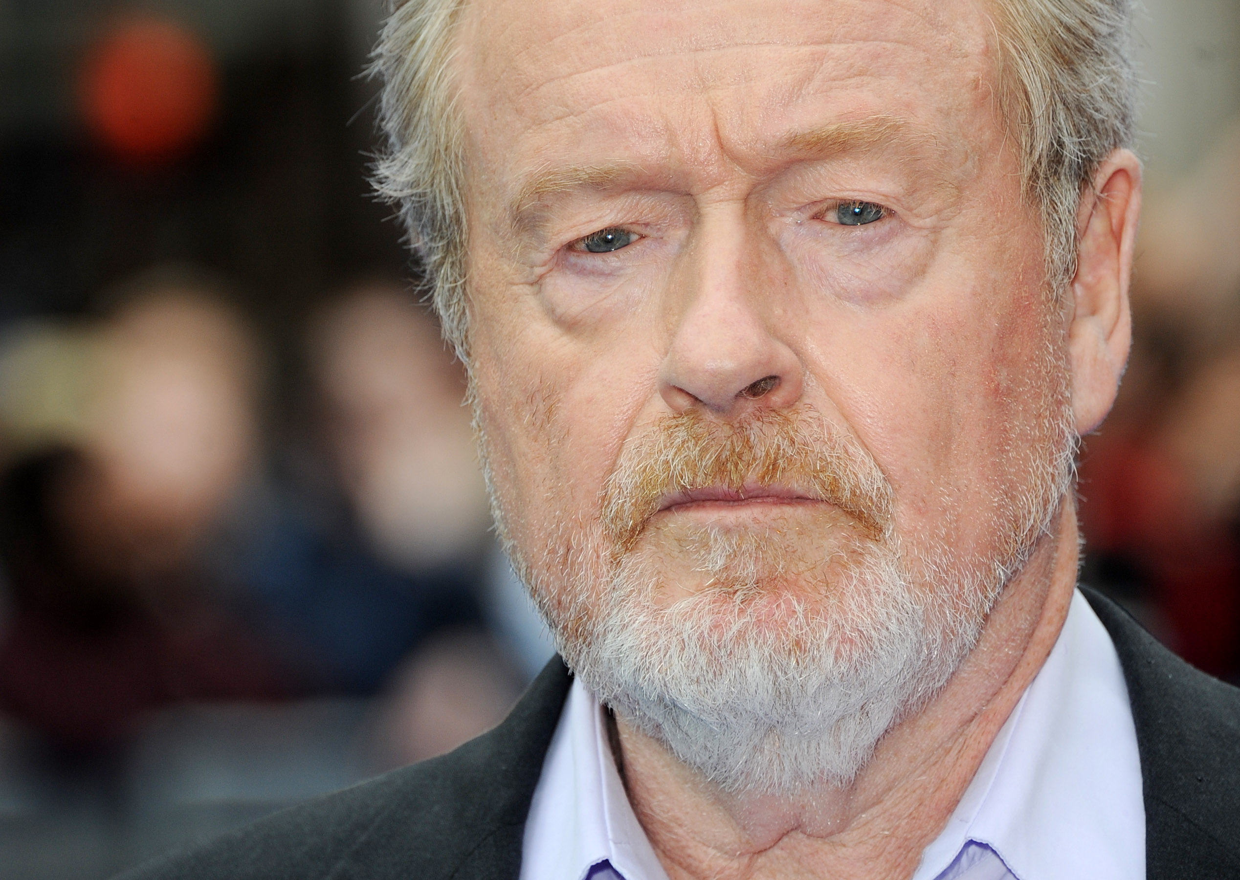 Director Sir Ridley Scott attends the world premiere of Prometheus at Empire Leicester Square on May 31, 2012 in London.