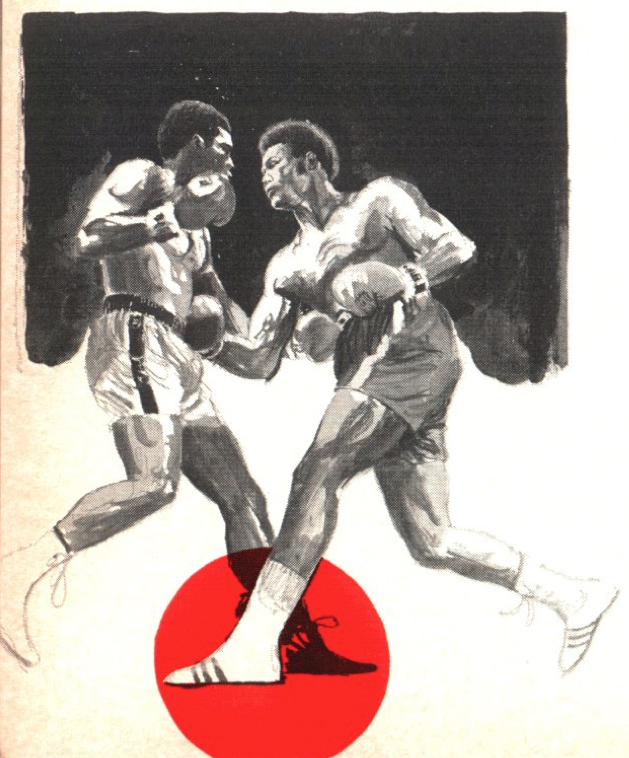 An illustration from TIME's Sept. 23, 1974, fight preview