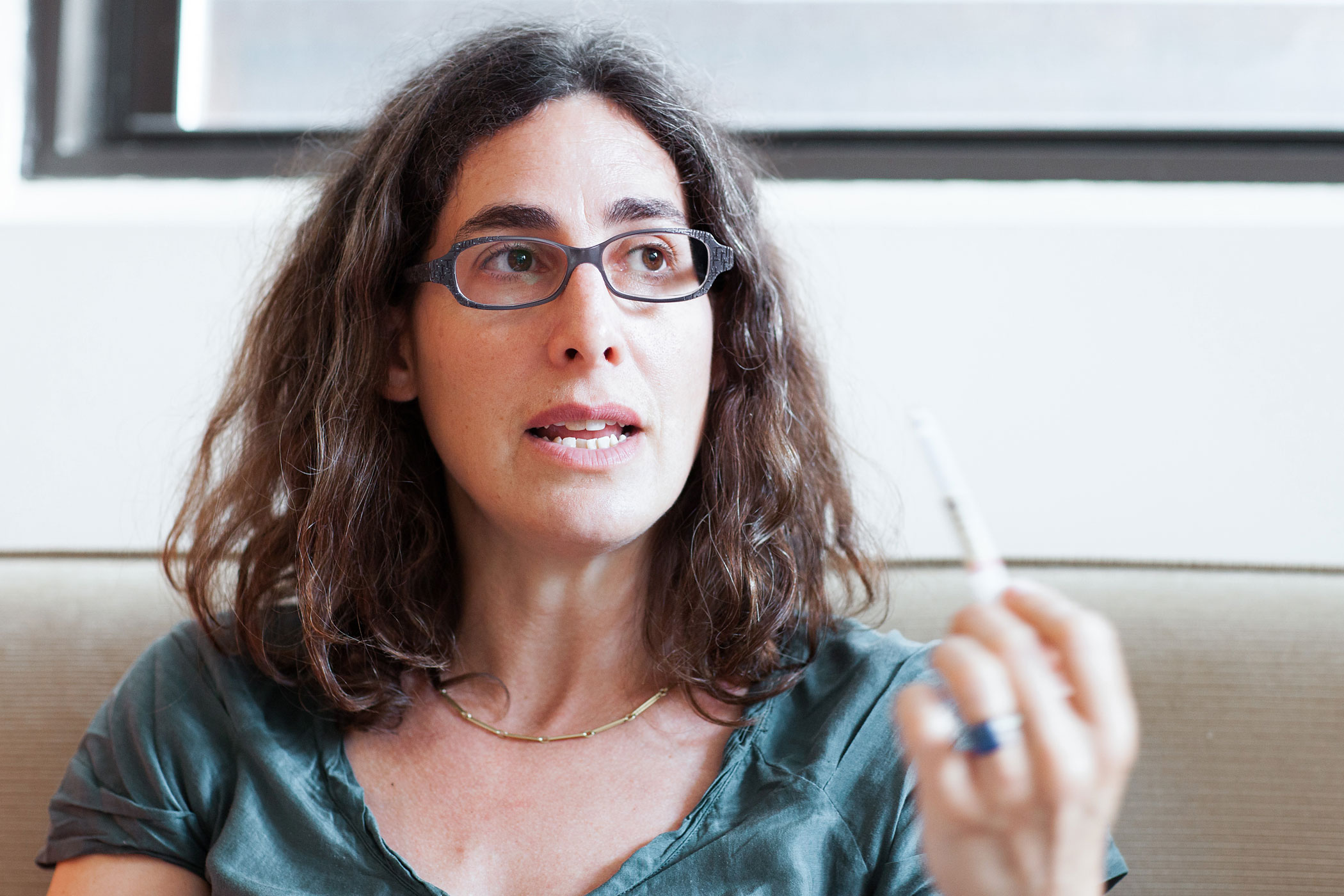 Sarah Koenig, host and executive producer of Serial