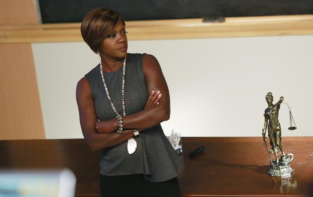 Viola Davis stars in ABC's How to Get Away With Murder