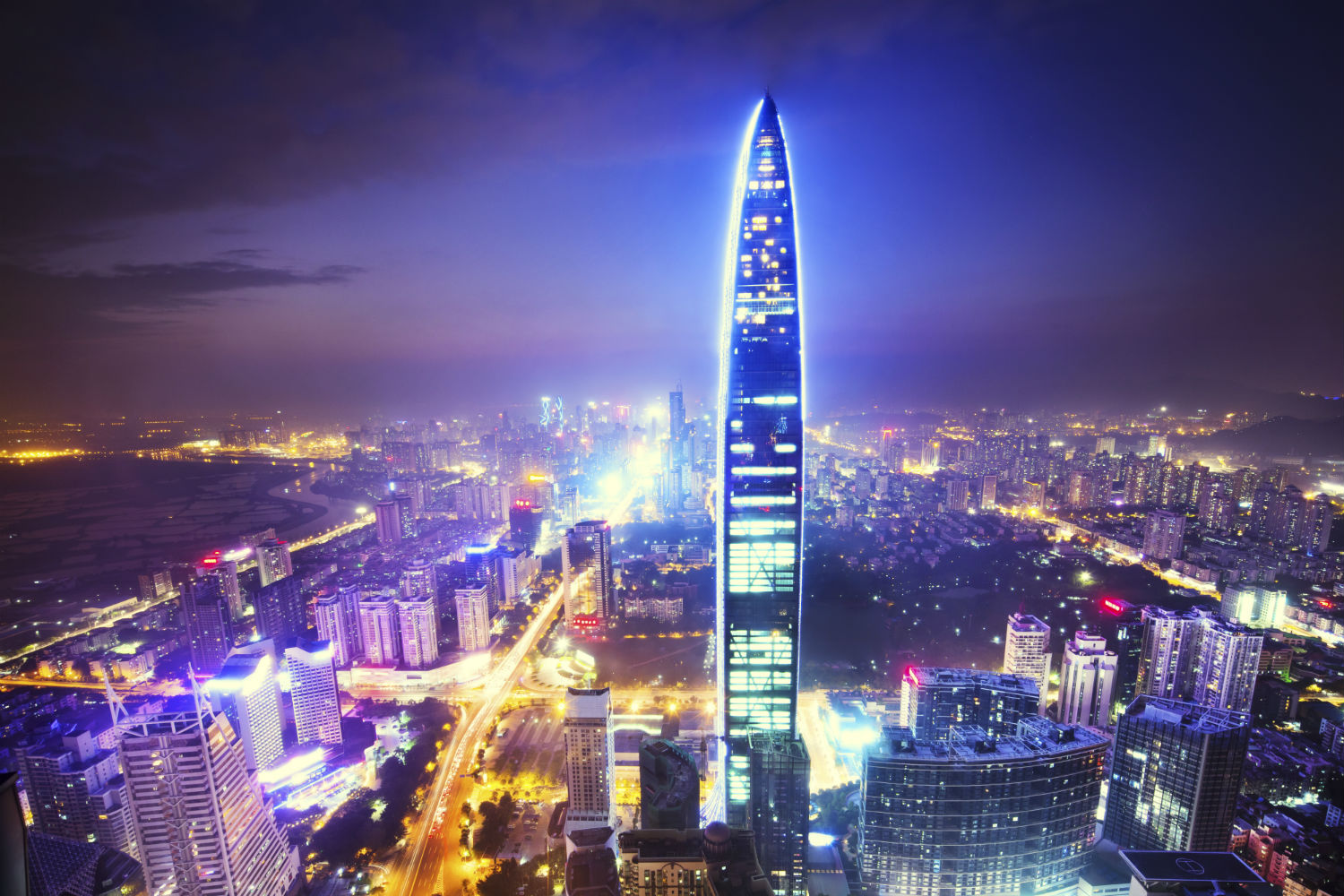 Shenzhen is an ultra-modern city of 14 million people located in southern China approximately 30 miles from Hong Kong.
