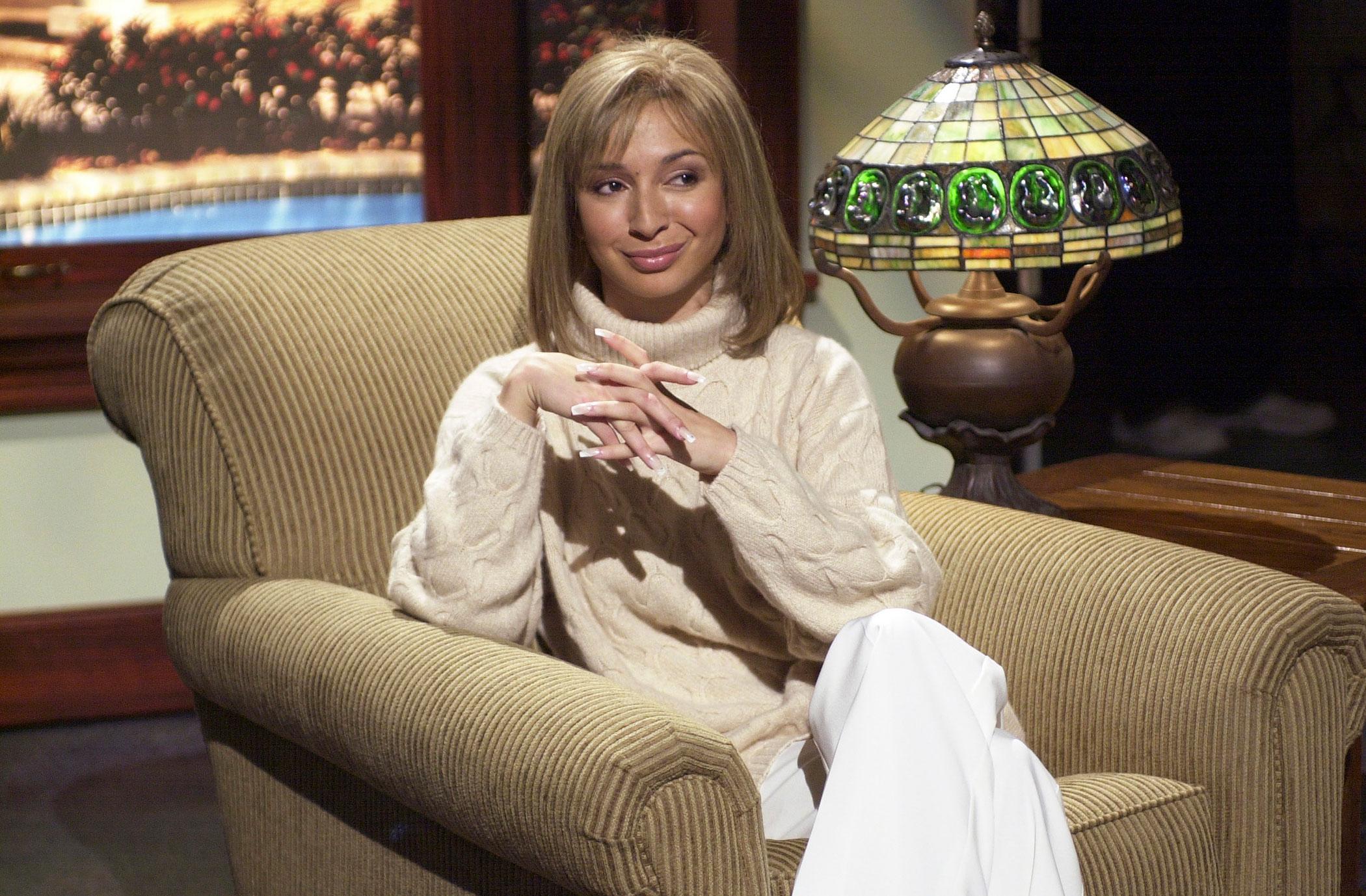 Maya Rudolph as Barbra Streisand during the Donahue skit on Nov. 16, 2002.