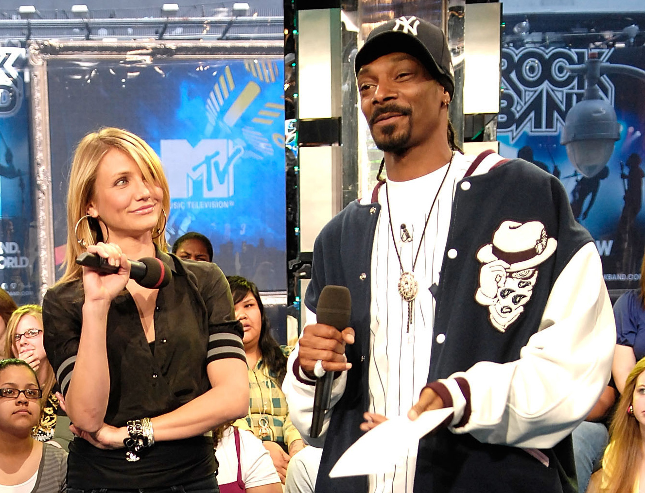Cameron Diaz and Snoop Dogg went to Long Beach Polytechnic High School together, and the actress has said that she probably bought drugs from the rapper at some point.