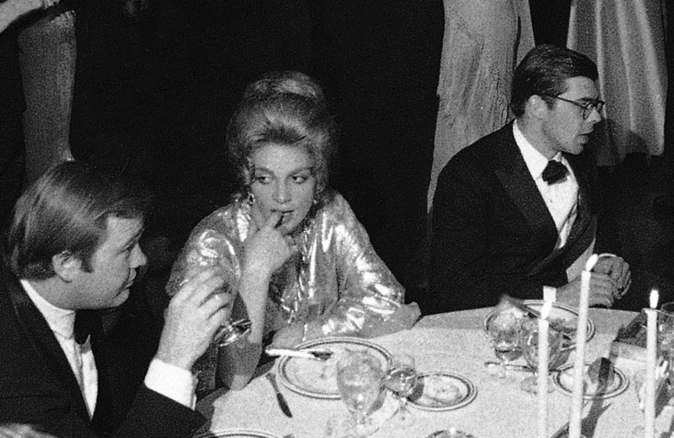 The society ball at the Plaza Hotel in New York City on Jan. 19, 1970. A woman wears  Oscar's Hairdo.