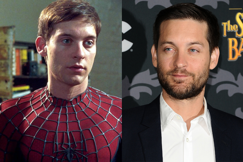 Tobey Maguire is still probably best known for his Spidey Senses, though Andrew Garfield is doing his best to erase our fond Spider-Man memories. But he's since tried to redefine his image in dramatic movies like Brothers and The Great Gatsby.