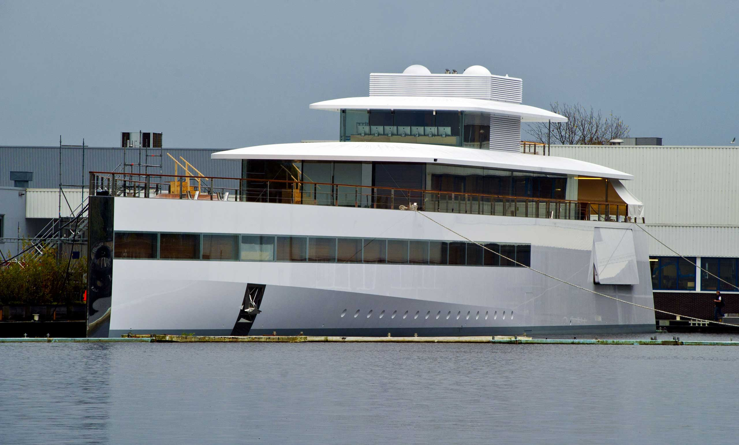 <strong>Steve Jobs</strong>                                                                      The Apple CEO's super yacht Venus was designed by Philippe Starck's design company Ubik. Jobs spent approximately $131 million on it but passed away in 2011 before it was completed.