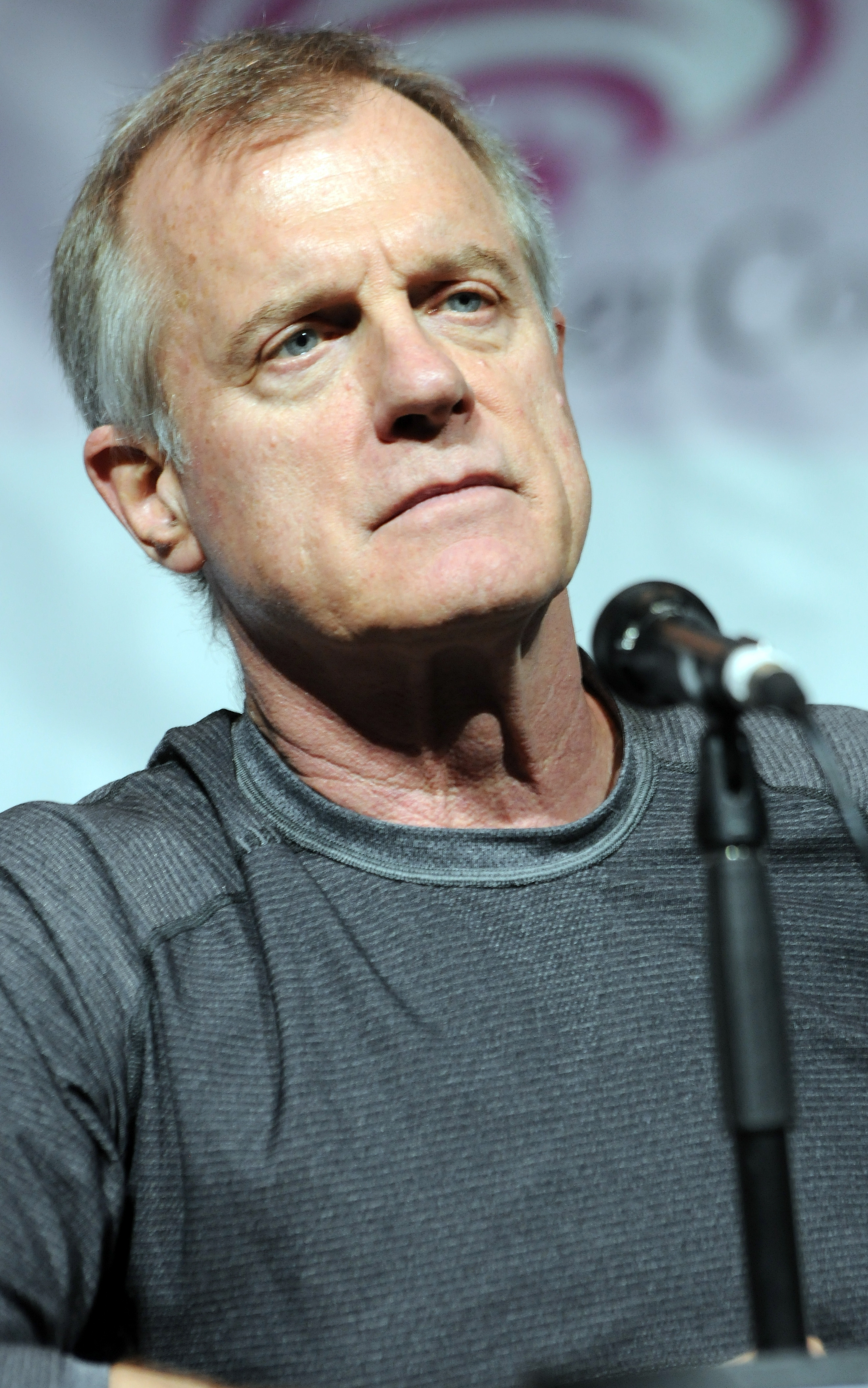 Actor Stephen Collins promotes NBC's  Revolution  at WonderCon Anaheim 2014 - Day 1 held at Anaheim Convention Center on April 18, 2014 in Anaheim, California.
