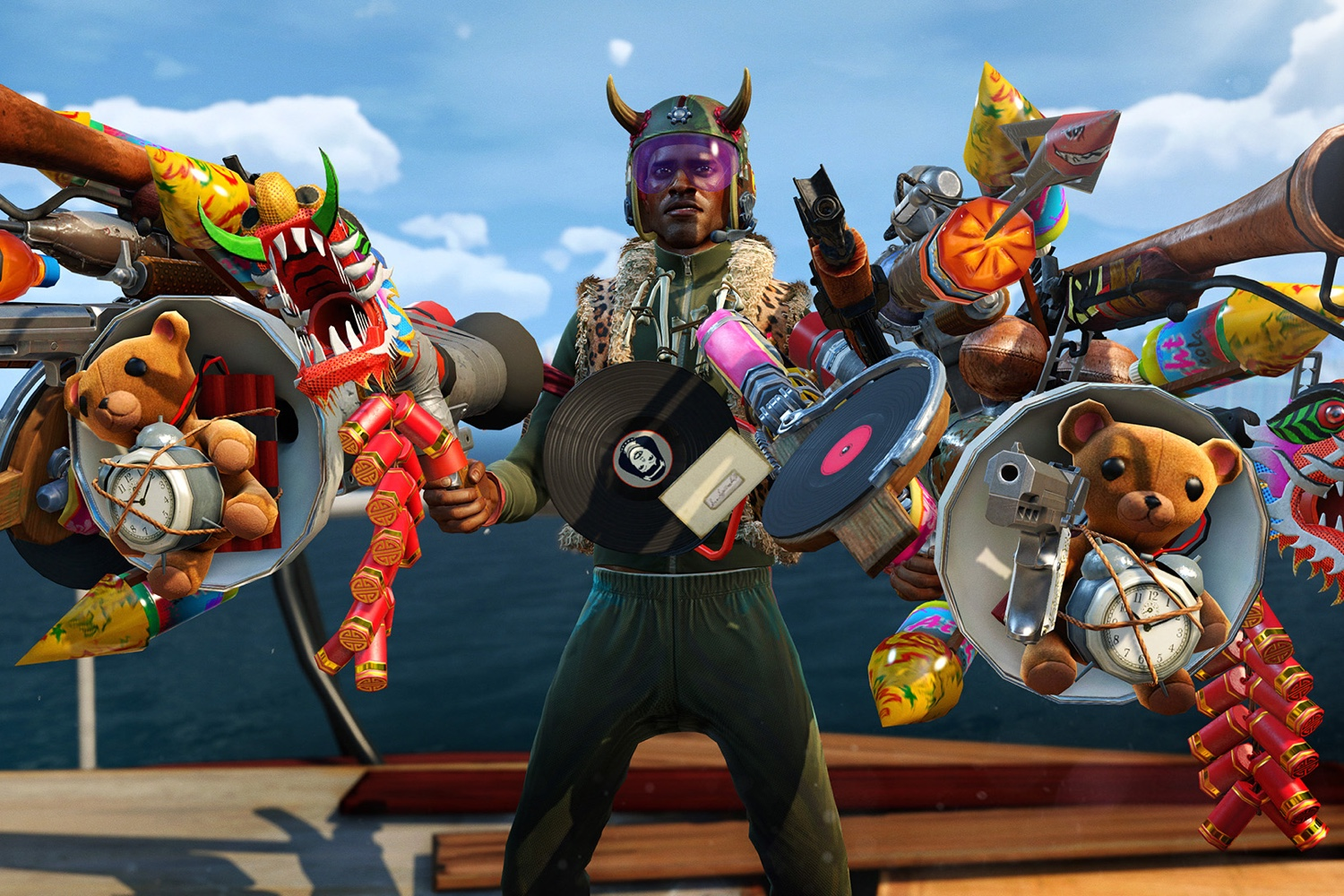 Sunset Overdrive Review Master Grindhouse Time