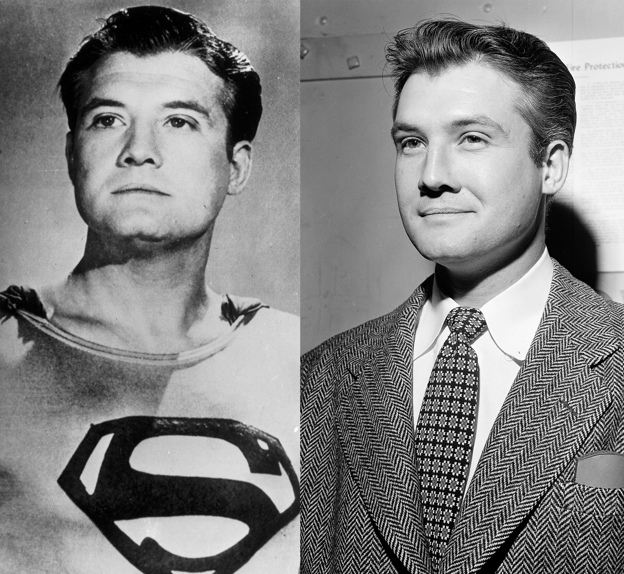 George Reeves brought Superman to life in The Adventures of Superman from 1925 until he died in 1958. He even appeared in I Love Lucy as the Man of Steel.