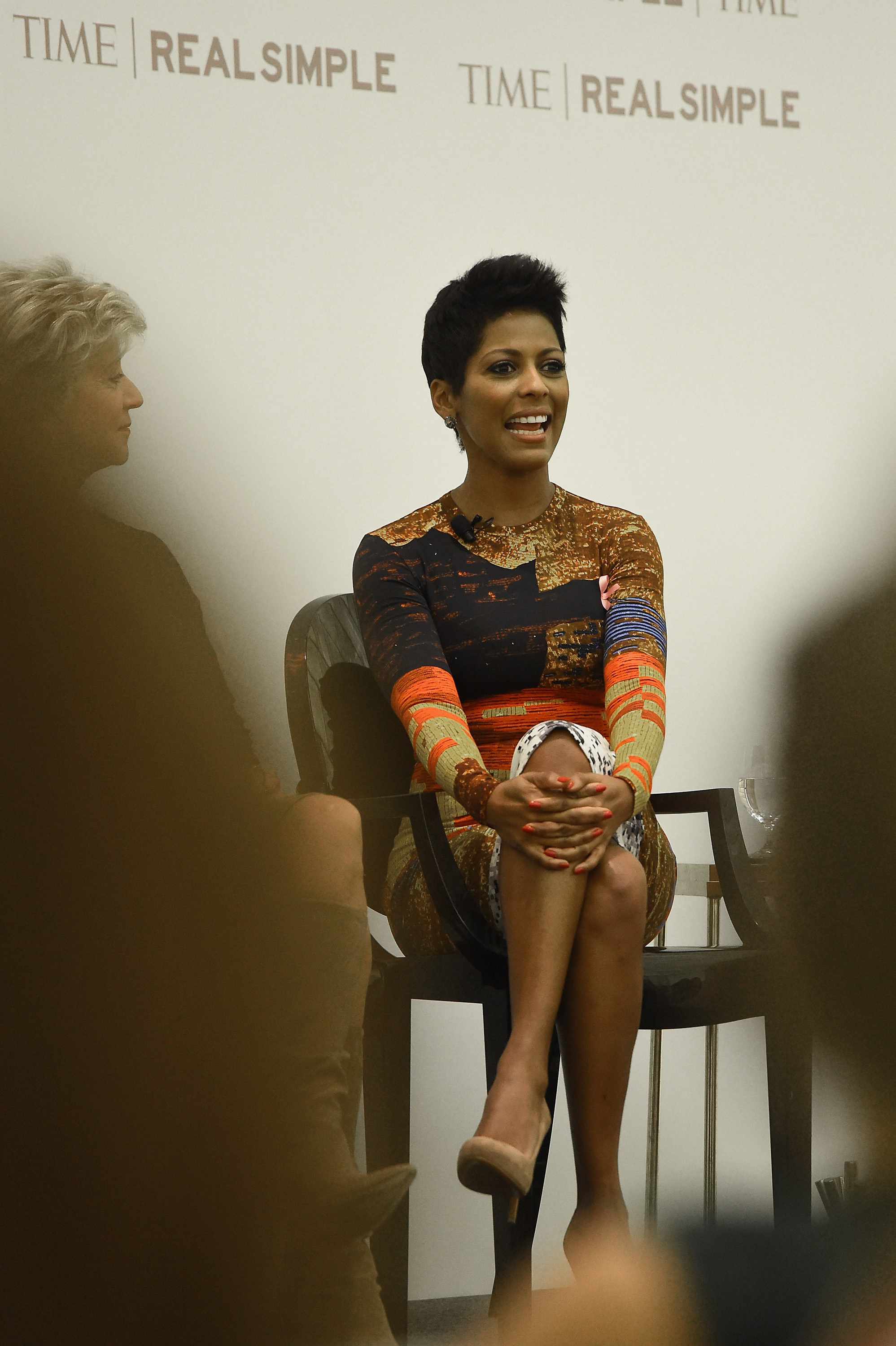 Correspondent Tamron Hall speaks at the TIME and Real Simple's Women & Success event at the Park Hyatt on Oct. 1, 2014 in New York City.