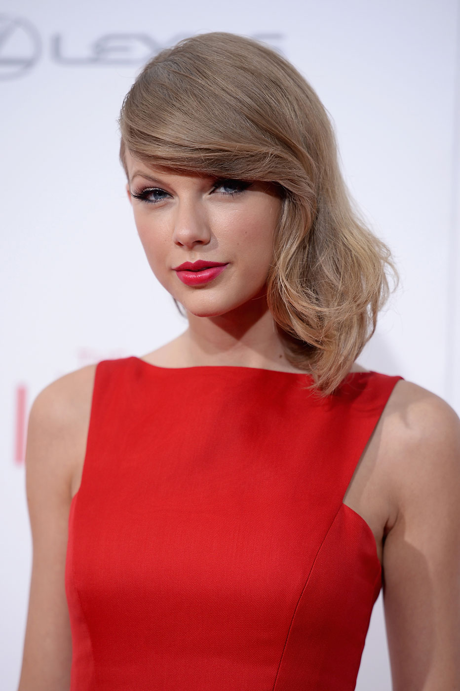 Actress Taylor Swift attends  The Giver  premiere at Ziegfeld Theater on August 11, 2014 in New York City.