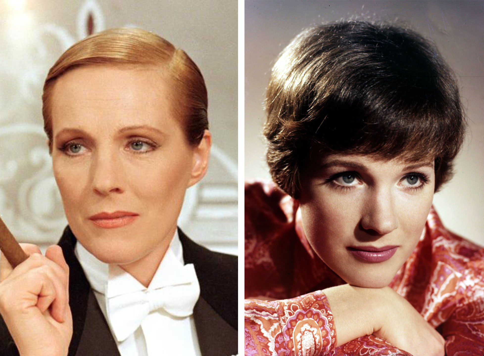 Julie Andrews as Count Victor Grazinski in Victor Victoria