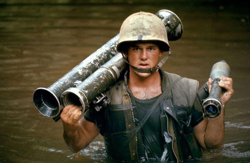 U.S. Marine in Vietnam, October 1966.