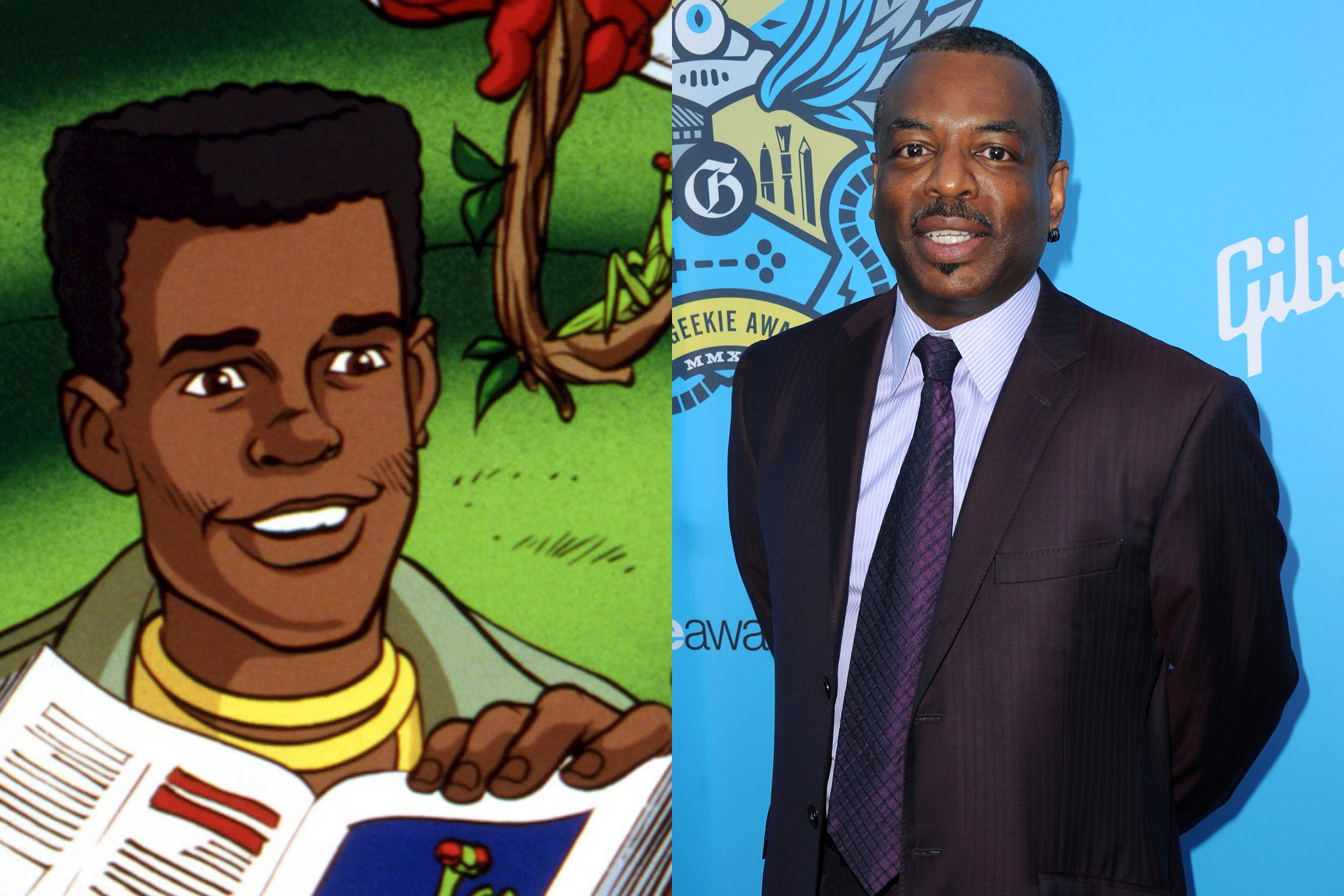As if being on <i>Star Trek: The Next Generation</i> and <i>Reading Rainbow</i> weren't enough, LeVar Burton was also the voice of Kwame on <i>Captain Planet and the Planeteers</i>.