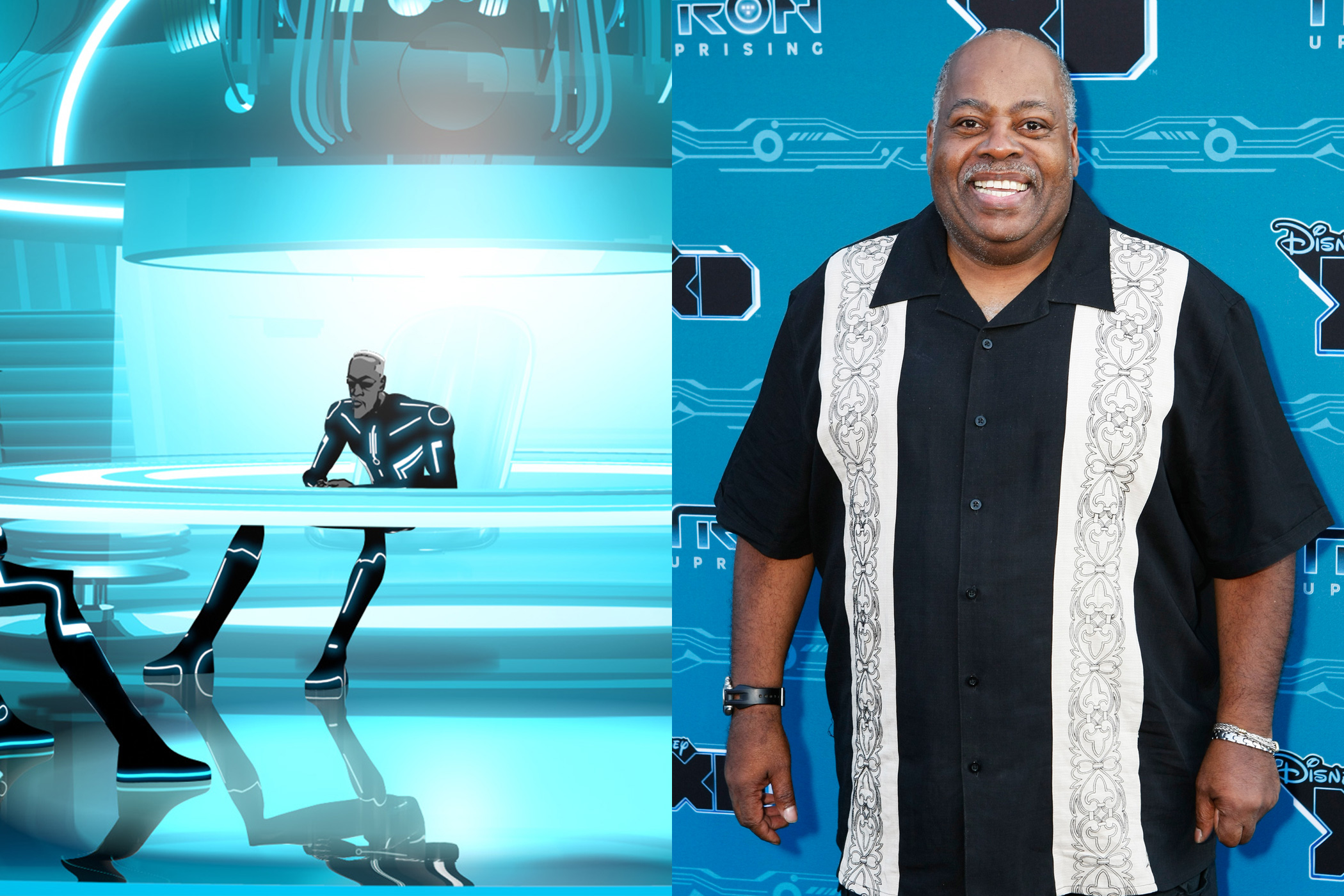 Reginald VelJohnson is best known for his nine seasons as Carl Winslow on <i>Family Matters</i>, but more recently he was the voice of Able, a mechanic and fatherly figure in Disney's <i>Tron: Uprising</i>.