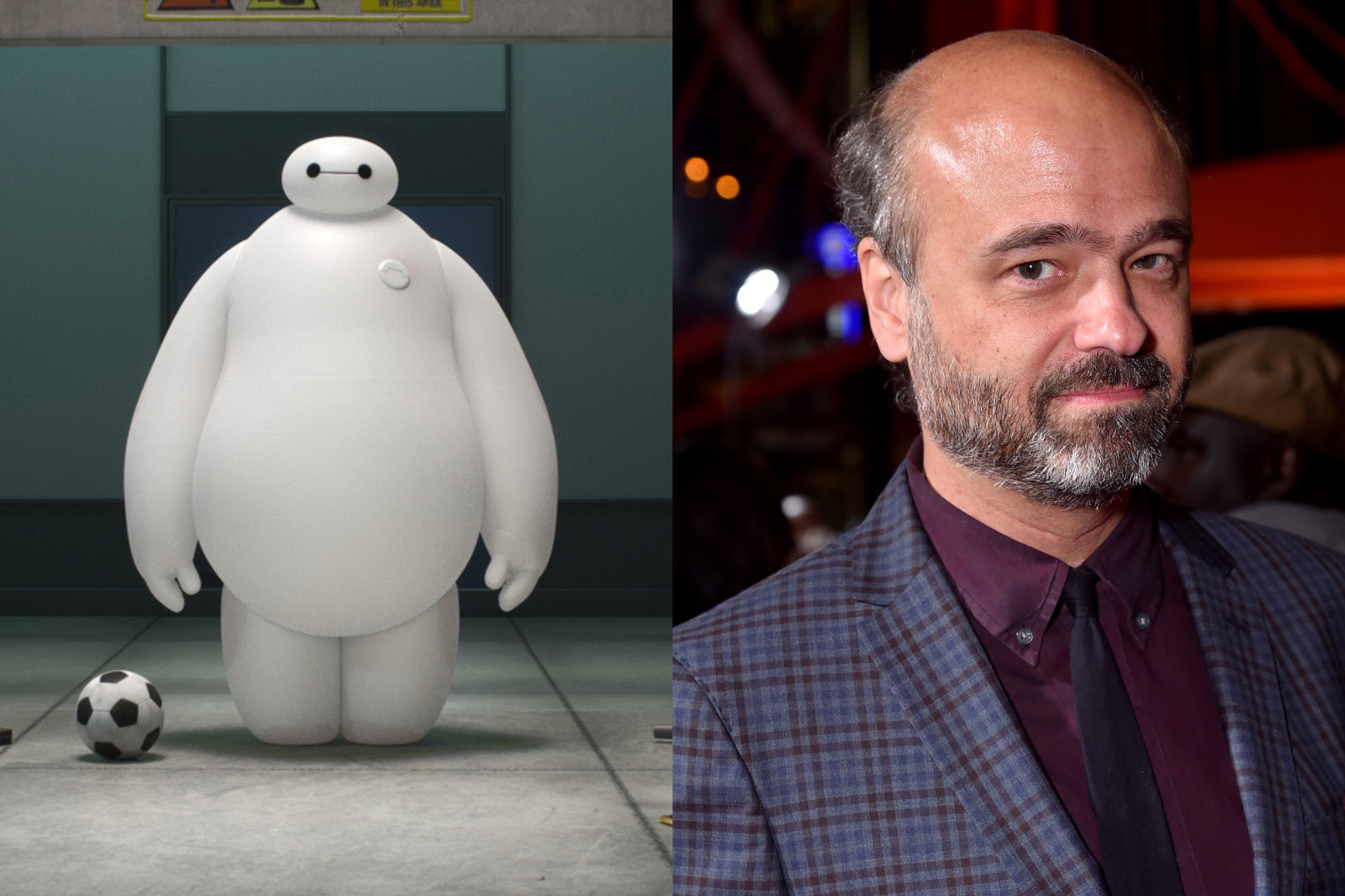 <i>30 Rock Star</i> Scott Adsit lends his voice to the lovable robot Baymax in Disney's <i>Big Hero 6</i>