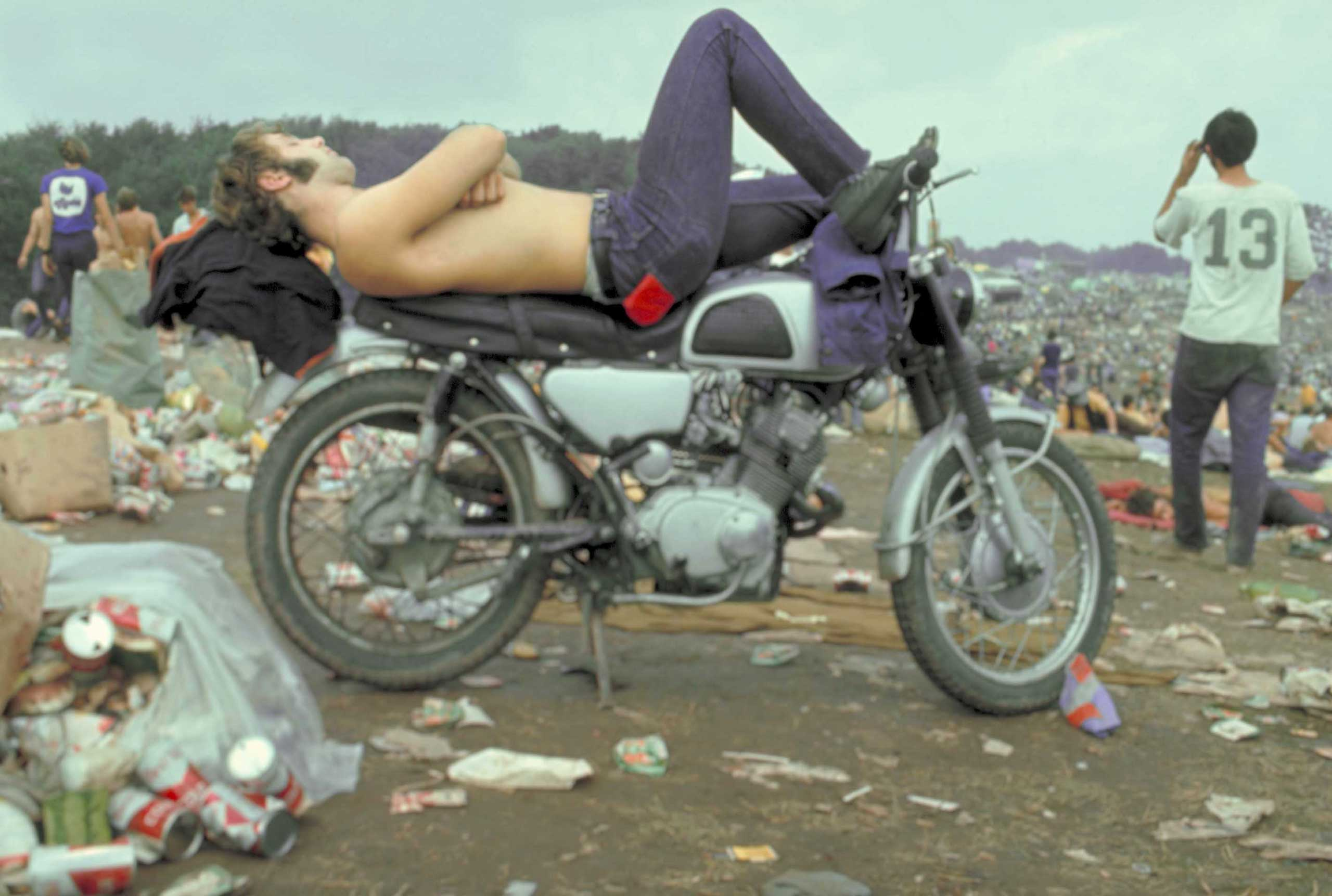 Not published in LIFE. Woodstock Music & Art Fair, August 1969.