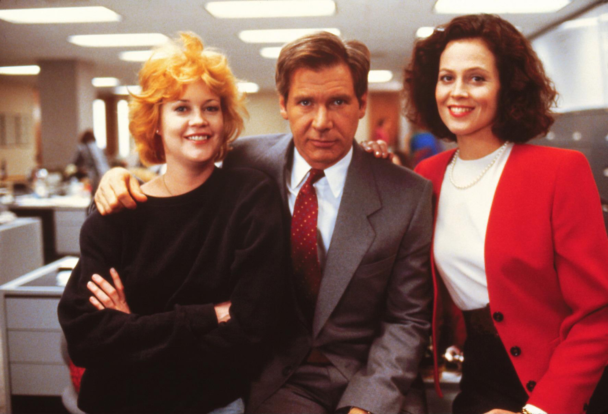 As Katharine Parker, Weaver was the nightmare boss to Melanie Griffith's Tess McGill in 1988's Working Girl.