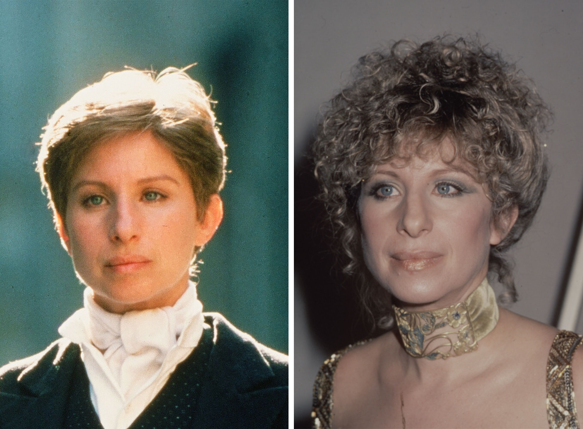 Barbra Streisand as Yentl Mendel in Yentl