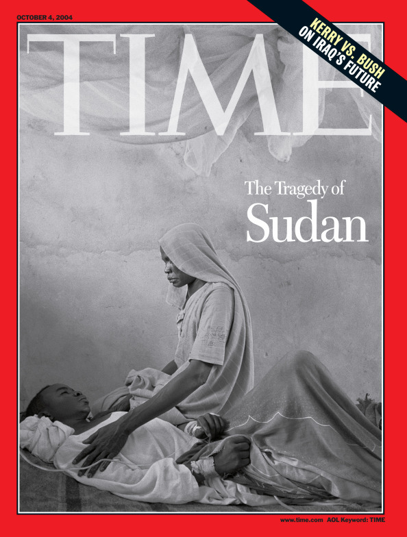 The Oct. 4, 2004 cover of TIME. This cover on Darfur by James Nachtwey is perhaps the most visually powerful story I have ever worked on. In 2005, it won a U.S. National Magazine Award for photo portfolio. This iconic cover image and the multiple spreads that ran inside underscore how a master photographer's work can raise attention to an issue in profound way. This story also represented what can be achieved when a team pulls together to support a photographer's vision. That team included Jim Kelly, TIME's former Managing Editor, former Director of Photography Michele Stephenson, the former Picture Editor MaryAnne Golon and former art director Cynthia Hoffman. Even one of Nachtwey's former assistants, Giovanni Del Brenna, left a dinner party he was hosting as soon as I called – to help look over proofs throughout the night.