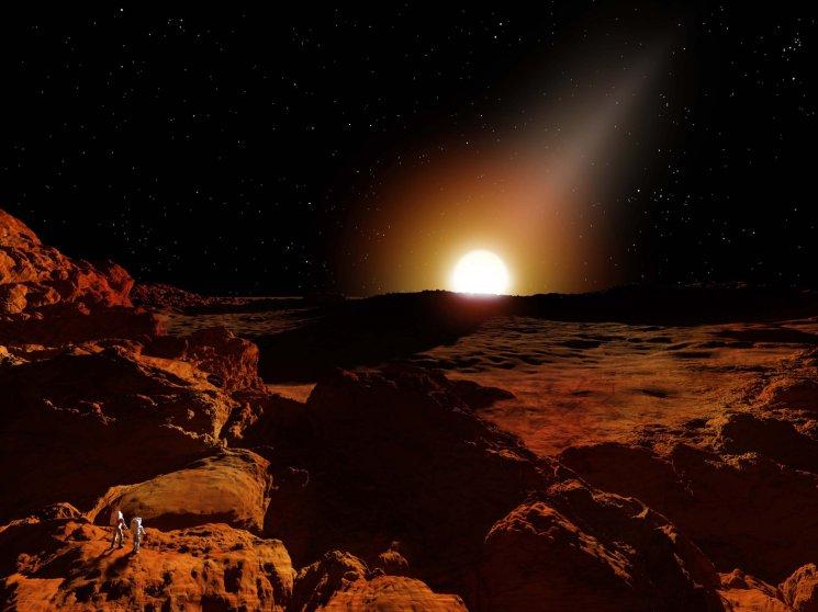 Sunrise on Mercury