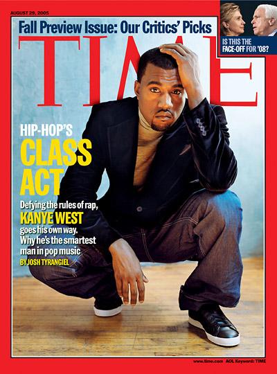 Kanye West (Aug. 29, 2005)