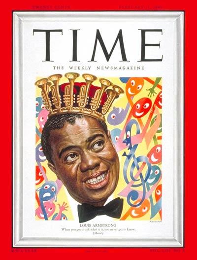 Louis Armstrong (Feb. 21, 1949)