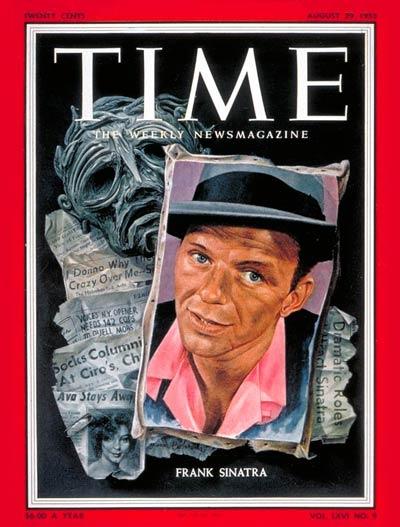 Frank Sinatra (Aug. 29, 1955)
